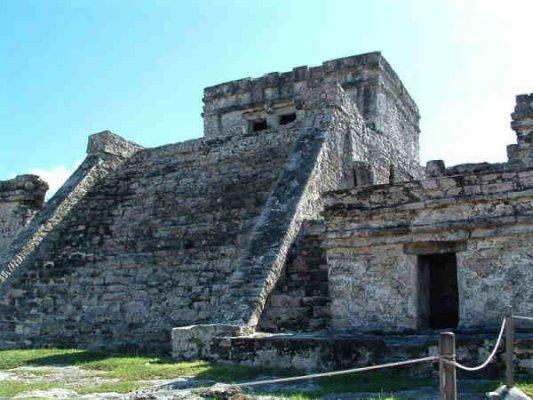 Maya ruïne Tula