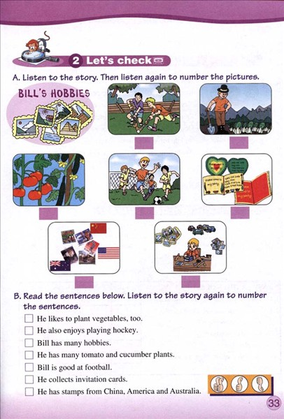 人教版新版六年级上册英语33高清图片