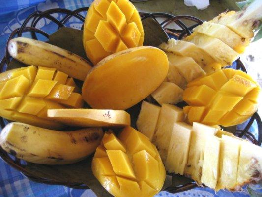 マンゴー美味しかった♪